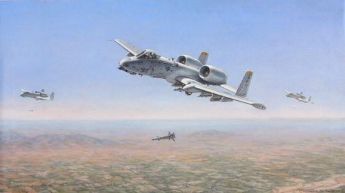 A10s over Afghanistan