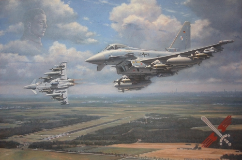 Luftwaffe Eurofighters