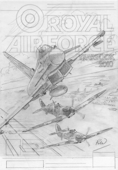 RAF Yearbook Drawing 2