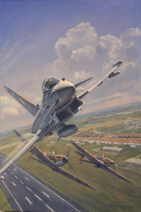 RAF Yearbook Painting