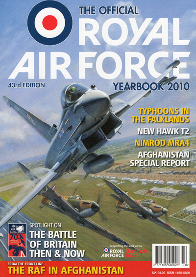 RAF Yearbook cover