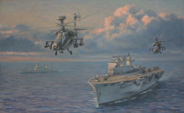 Apaches from HMS Ocean
