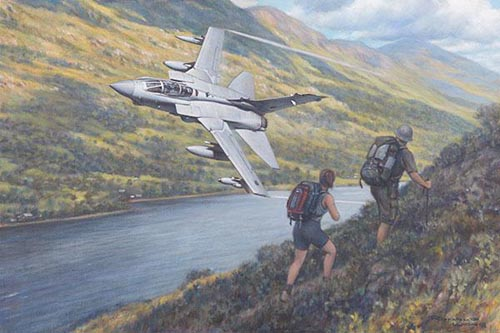 Tornado GR4 in the Highlands