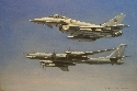 Typhoon F2 and TU95